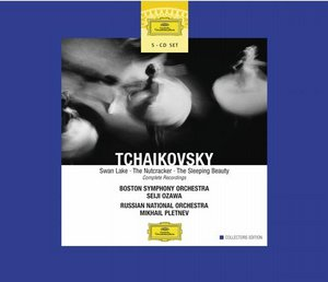 Pyotr Tchaikovsky / Swan Lake / The Nutcracker / The Sleeping Beauty / Seiji Ozawa / Mikhail Pletnev 5CD
