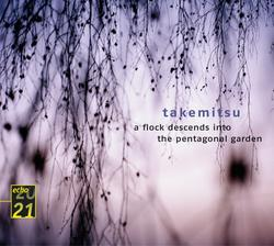 Toru Takemitsu / A Flock Descends Into the Pentagonal Garden, etc. / Boston SO / Seiji Ozawa