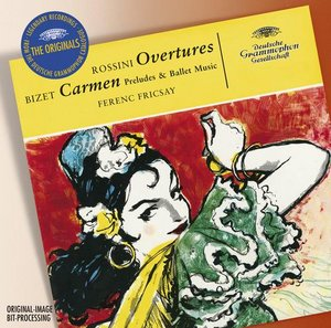 Gioacchino Rossini / Overtures / Berliner Philharmoniker / RIAS-Symphonie-Orchester Berlin / Ferenc Fricsay