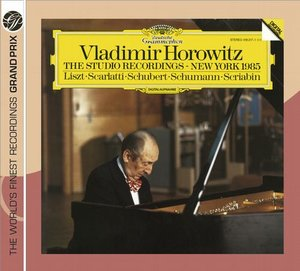 Vladimir Horowitz / The Studio Recordings / New York 1985