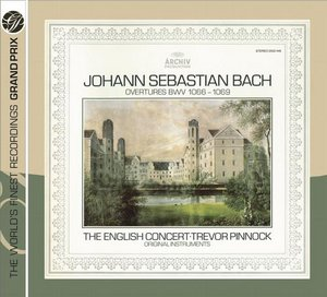 J.S. Bach / Orchestral Suites / The English Concert / Trevor Pinnock
