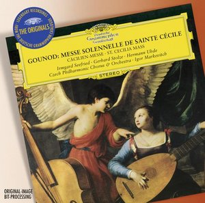Charles Gounod / St. Cecilia Mass / Irmgard Seefried / Gerhard Stolze / Czech Philharmonic Orchestra & Chorus / Igor Markevitch