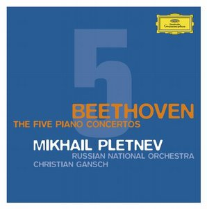 Ludwig van Beethoven / Piano Concertos (Complete) / Mikhail Pletnev / Russian National Orchestra / Christian Gansch 3CD