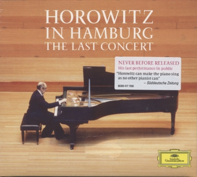Vladimir Horowitz / Horowitz in Hamburg - The Last Concert