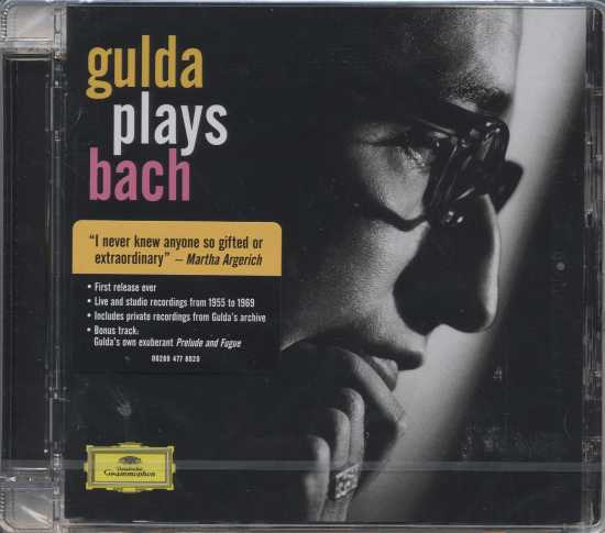J.S. Bach / Friedrich Gulda Plays Bach