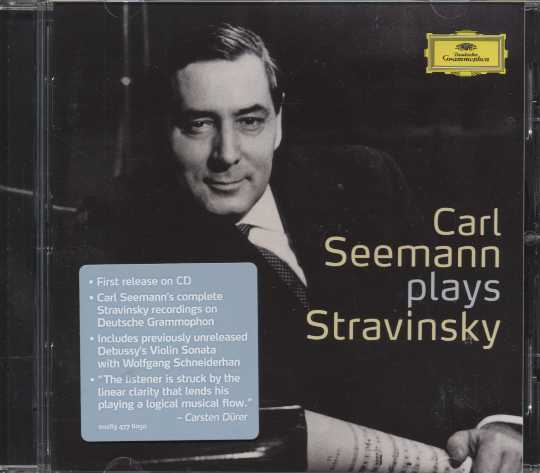 Igor Stravinsky / Piano and Chamber Works / Carl Seemann et al.