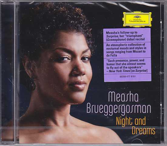 Measha Brueggergosman / Night and Dreams / Justus Zeyen