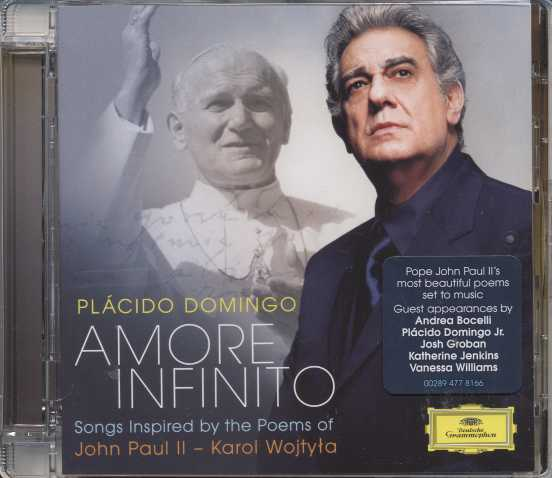 Plácido Domingo / Amore infinito / Songs Inspired by the Poems of John Paul II - Karol Wojtyla