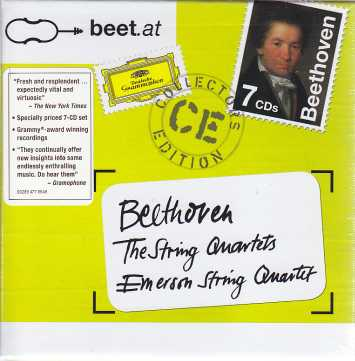 Ludwig van Beethoven / String Quartets (Complete) / Emerson String Quartet 7CD