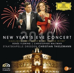 New Year's Eve in Dresden 2010 / Franz Lehár / Die Lustige Witwe (Highlights) // Renée Fleming / Christopher Maltman / Staatskapelle Dresden / Sächsischer Staatsopernchor Dresden / Christian Thielemann