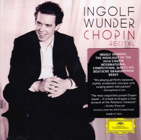 Frédéric Chopin / Piano Music / Ingolf Wunder