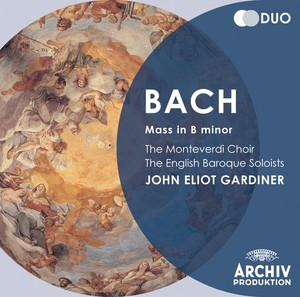 J.S. Bach / Mass in B minor // Maria Stader / Hertha Töpper / Ernst Haefliger / Kieth Engen / The Monteverdi Choir / English Baroque Soloists / John Eliot Gardiner