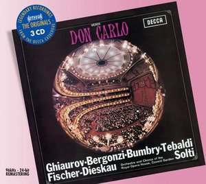Giuseppe Verdi / Don Carlo / Renata Tebaldi / Carlo Bergonzi / Orchestra & Chorus of the Royal Opera House / Sir Georg Solti 3CD