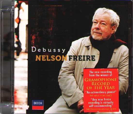 Claude Debussy / Preludes (Book I) // Nelson Freire