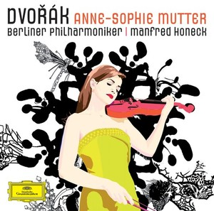 Antonín Dvorák / Violin Concerto // Anne-Sophie Mutter / Berliner Philharmoniker / Manfred Honeck