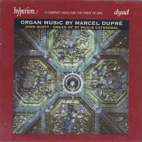 Marcel Dupré / Organ Music / John Scott 2CD