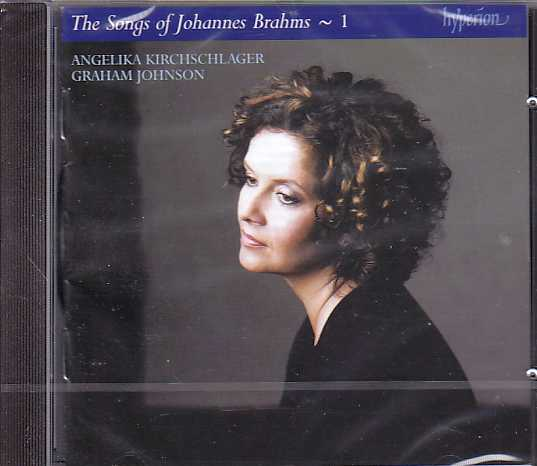 Johannes Brahms / Complete Songs, vol. 1 / Angelika Kirchschlager / Graham Johnson