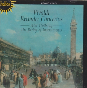 Antonio Vivaldi / Recorder Concertos / The Parley of Instruments / Peter Holtslag