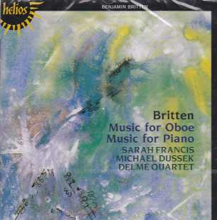Benjamin Britten / Music for Oboe & Piano