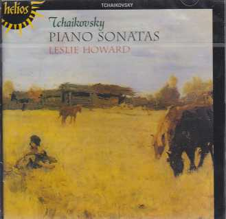 Pyotr Tchaikovsky / The Three Piano Sonatas / Leslie Howard