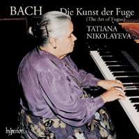 J.S. Bach / Die Kunst der Fuge (The art of Fugue) / Tatiana Nikolayeva