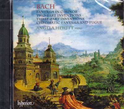 J.S. Bach / Fantasia in C minor / Two and Three Part Inventions, etc. / Angela Hewitt