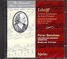 The Romantic Piano Concerto - 26 / Litolff: Concertos Symphoniques Nos. 3 & 5 / Peter Donohoe / BBC Scottish Symphony Orchestra / Litton