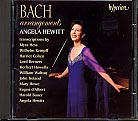 J.S. Bach / Arrangements (Transcriptions by Kempff, d'Albert, Hess, Hewitt & c) / Angela Hewitt, piano