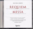 Michael Haydn / Requiem / Missa in honorem Sanctae Ursulae / Choir of the King's Consort / Robert King