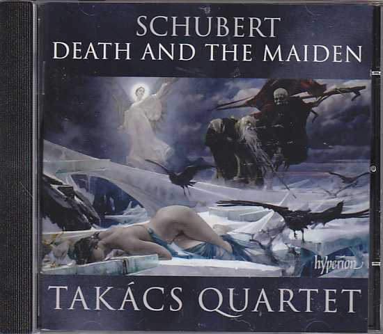 Franz Schubert / String Quartets (Death and the Maiden / Rosamunde) / Takács Quartet
