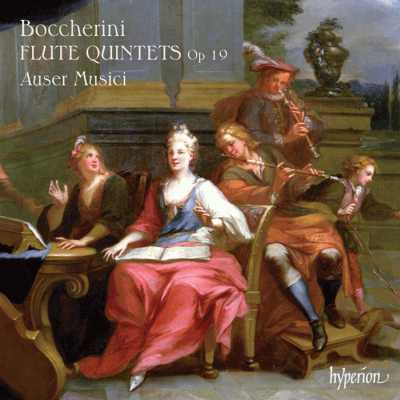 Luigi Boccherini / Six Quintets for Flute and Strings / Auser Musici