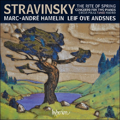 Igor Stravinsky / The Rite of Spring / Concerto for for Two Pianos // Marc-André Hamelin / Leif Ove Andsnes