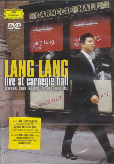 Lang Lang / Live at Carnegie Hall DVD