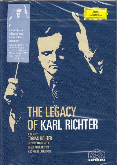 Karl Richter / The Legacy of  Karl Richter DVD