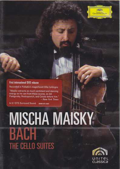 J.S. Bach / Cello Suites / Mischa Maisky DVD