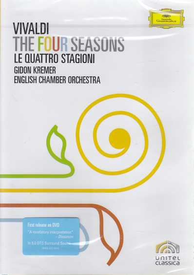 Antonio Vivaldi / The Four Seasons / English Chamber Orchestra / Gidon Kremer DVD