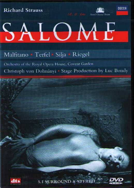 Richard Strauss / Salome / Catherine Malfitano / Bryn Terfel / Anja Silja / Orchestra of Royal Opera House Covent Garden / Kenneth Riegel DVD