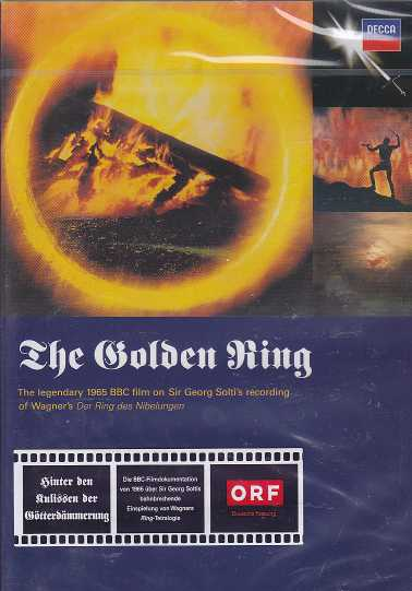 Richard Wagner / The Golden Ring: The Legendary 1965 BBC Film / Sir Georg Solti DVD
