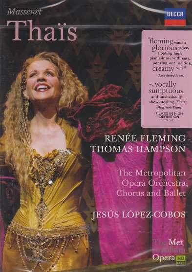 Jules Massenet / Thais // Renee Fleming / Thomas Hampson / The Metropolitan Orchestra / Jesus López-Cobos