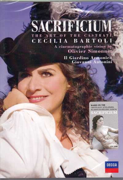 Cecilia Bartoli / Sacrificium: The Art of the Castrati DVD