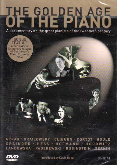 The Golden Age of the Piano DVD