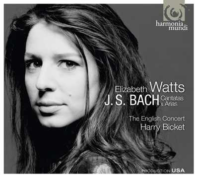 J.S. Bach / Cantatas and Arias / Elizabeth Watts / English Concert / Harry Bicket SACD