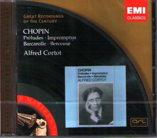 Frédéric Chopin / Preludes op. 28 / Impromptus / Alfred Cortot