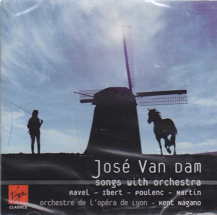 José van Dam / French Songs // Maurice Ravel / Jacques Ibert / Francis Poulenc / Frank Martin