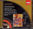 Pyotr Tchaikovsky / Symphony No. 4 / The Nutcracker / Sir Thomas Beecham