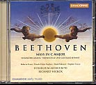 Ludwig van Beethoven / Mass in C major, etc. / Rebecca Evans / Mark Padmore / Collegium Musicum 90 / Richard Hickox