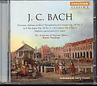 J. C. Bach: Orchestral Works / Academy of Ancient Music / Standage