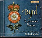 William Byrd / Cantiones sacrae / Choir of Trinity College / Marlow