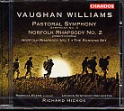 Ralph Vaughan Williams / Pastoral Symphony etc. / London Symphony Orchestra / Richard Hickox