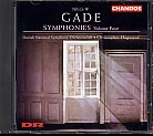 Niels Gade / Symphonies Nos 1 & 5 / DNSO / Christopher Hogwood